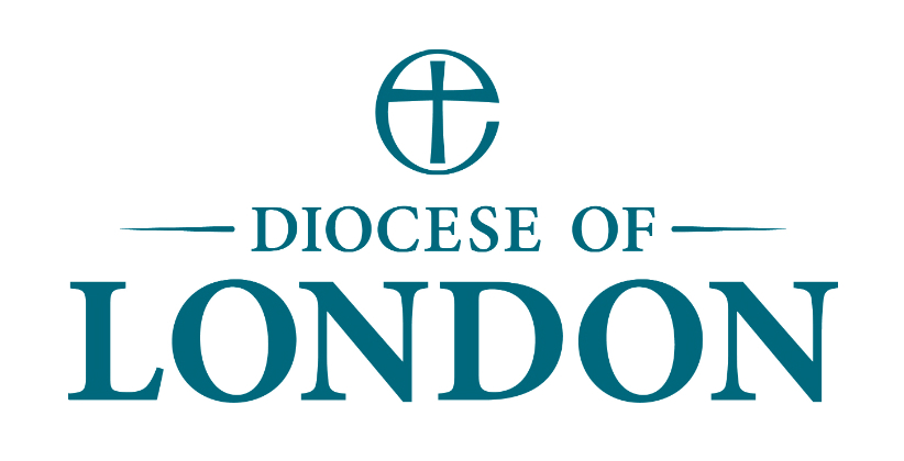 Diocese of London logo - blue